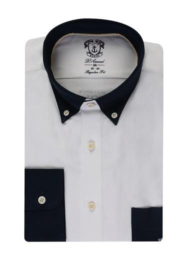 D'S Damat Regular Fit Gömlek Beyaz